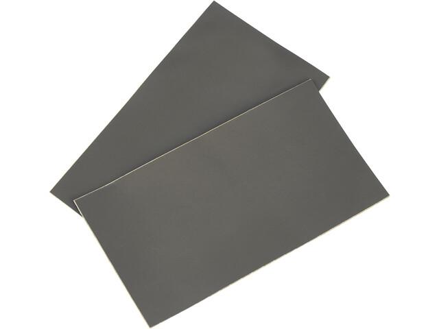 CAMPZ Pièces de réparation PVC 2 pièces, light grey